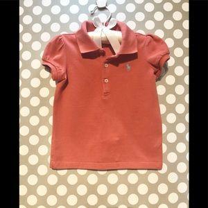 Ralph Lauren - Toddler Girl Polo Shirt